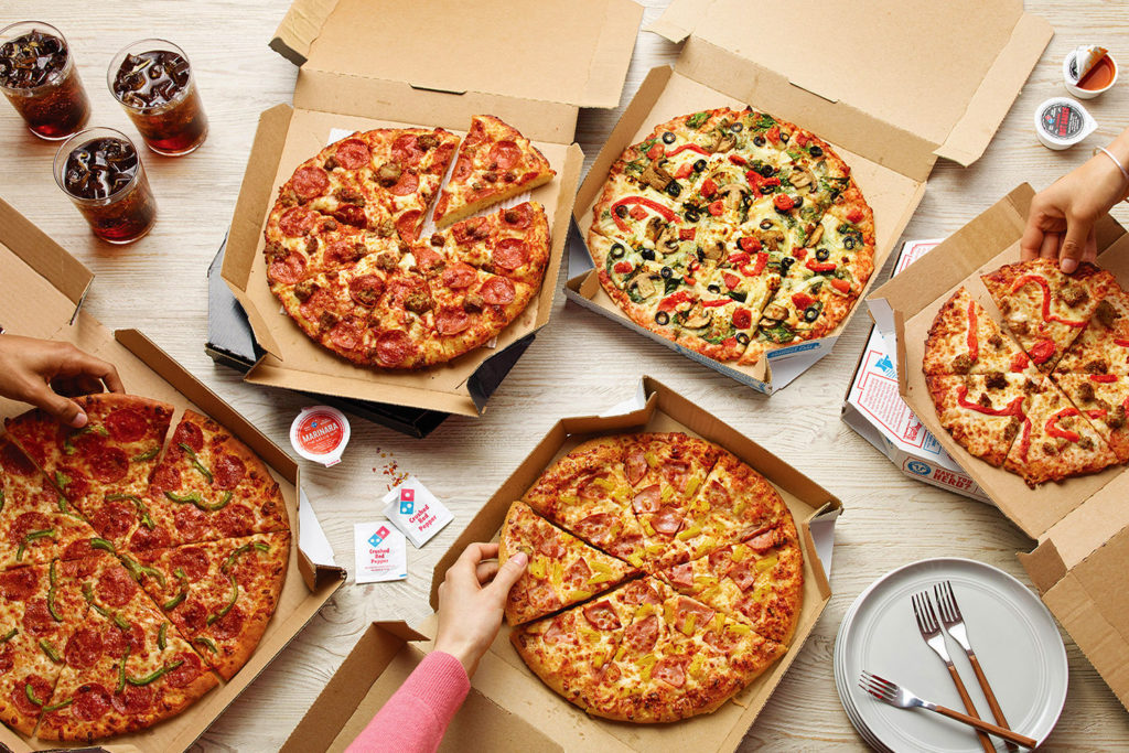 Domino's Pizza Selection